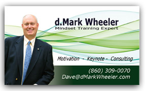 Sample Speaker Business Card - dw