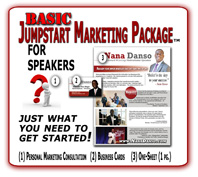 basic speaker marketing package