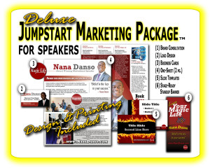 Speaker Marketing package DELUXE