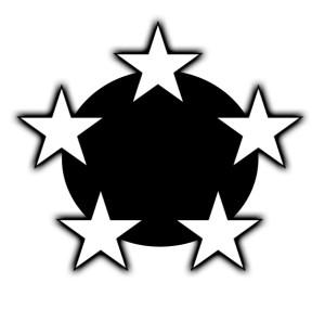 goal setting - 5 star circle