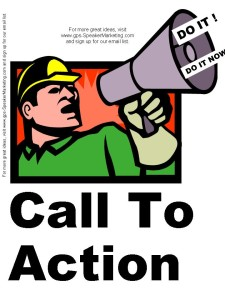 Call to Action - email marketing secret 5