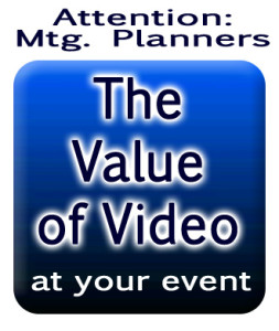 Value of Video for event planners